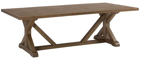 pine trestle dining table slater mill reclaimed pine trestle dining table from