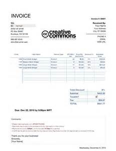 invoice template for numbers invoice template numbers invoice exle