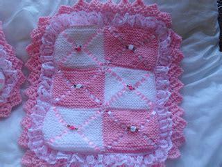 Knitted Pram Blanket Patterns Free by Ravelry Dolls Pram Blanket Pillow Knitting Pattern
