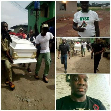 memory ls for deceased corp member killed by suspected cultists in delta state