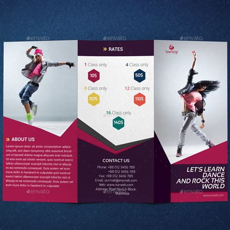 Design Studio Brochure by Trifold Studio Brochure By Sparkling Design Studio