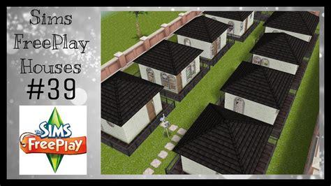 sims freeplay house ideas tiny town houses sims freeplay house idea 39 youtube