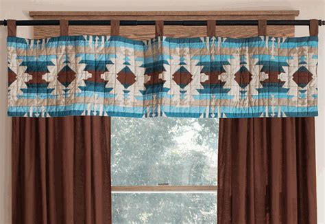 quilt pattern valance earth sky quilted valance