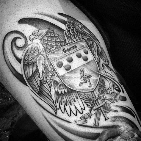 family crest tattoos for men best 25 family crest ideas on crests