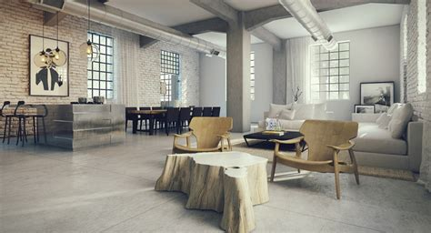 loft design ideas industrial lofts