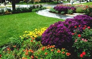 Front Yard Flower Garden Lovely Front Yard Flower Garden Ideas With Colourful Flower Plants Homelk
