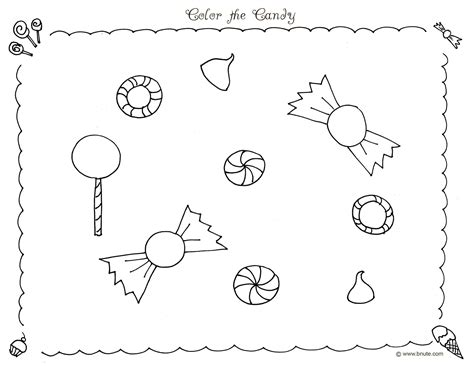 Free Printable Candyland Coloring Pages For Kids Candyland Coloring Pages