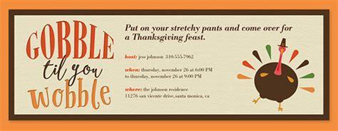 Thanksgiving Potluck Flyer Template Free
