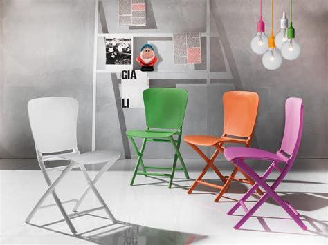 sedie pieghevoli plastica sedia pieghevole in polipropilene colorato anche per