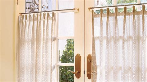 southern living curtains simply dressed cafe curtains southern living