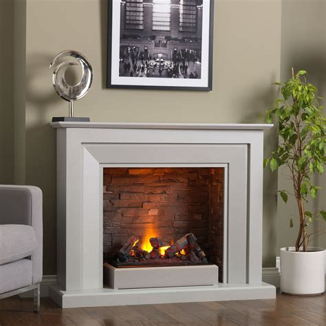 electric fireplace and mantel uk venice electric fireplace suite