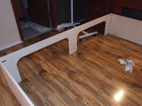 build  platform storage bed