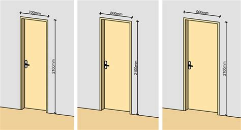 Normal Door Height average door width single door arch door