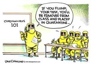 granlund cartoon coronavirus  opinion middletown