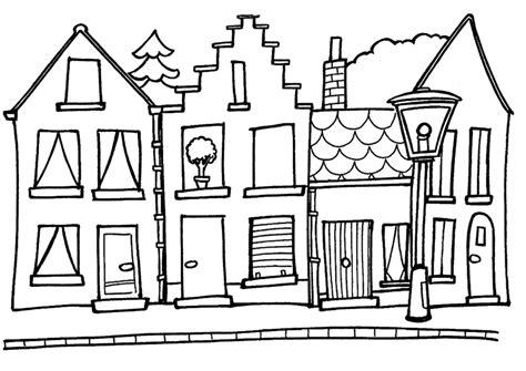 small house coloring page coloriage maisons les beaux dessins de meilleurs dessins