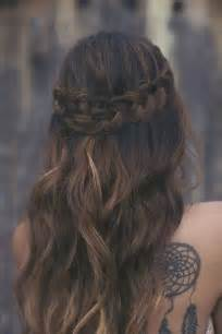 and wavy hair braiding long wavy hair and braid pictures photos and images for