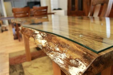 live edge table with glass and poplar burl timber salvabrani 2011 testimonials projects
