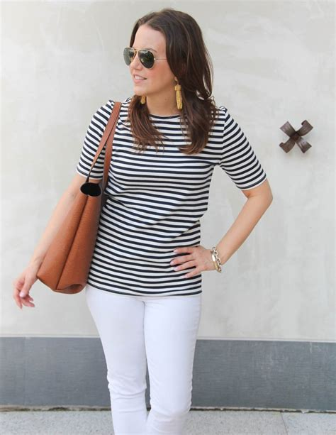What to Wear for the 4th of July: Striped Tee   Lady in VioletLady in Violet