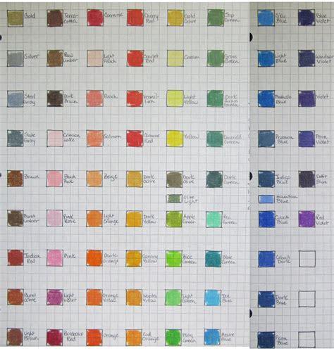 blick colored pencils blick studio color chart by josephine9606 on deviantart