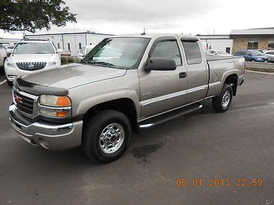 how to fix cars 2003 gmc sierra 2500 parking system sell used 2003 gmc sierra 2500hd ext cab 4x4 duramax diesel low low mileage in lake wales