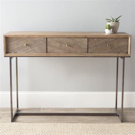 iron and wood console table wood and iron console tables zef jam