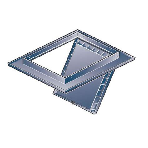 Insulated Attic Access Door by White Loft Trap Door Hinged Drop Insulated Hatch
