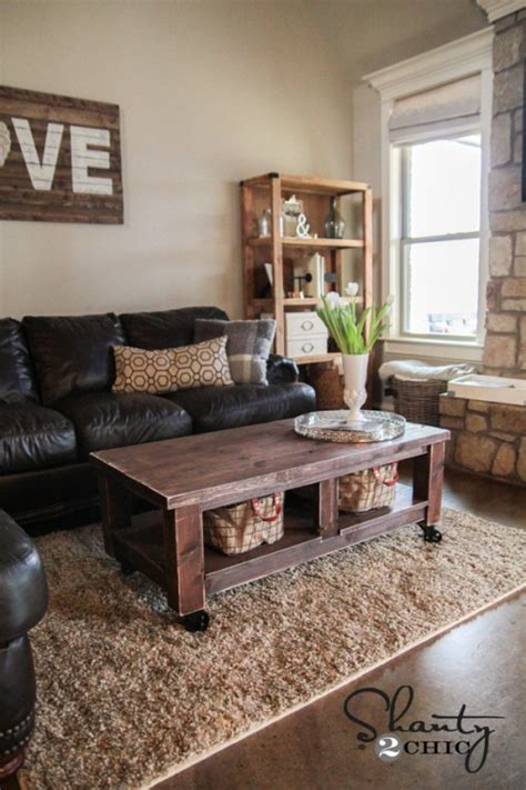pottery barn knockoff coffee table shanty 2 chic