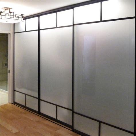 Bottom Track Systems Creative Mirror Shower Sliding Mirror Closet Door Track