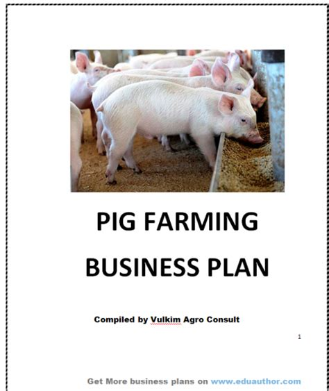 sle business plan on pig farming pig farming business plan gse bookbinder co