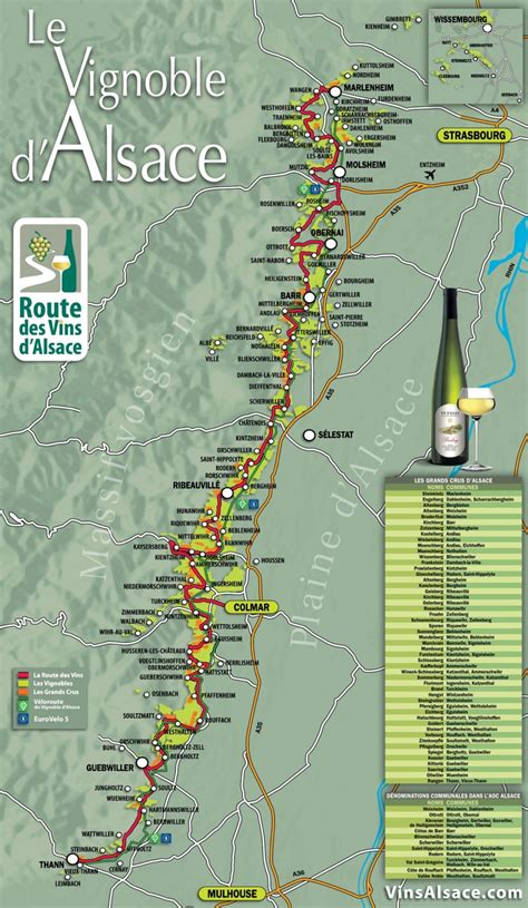 alsace wine map