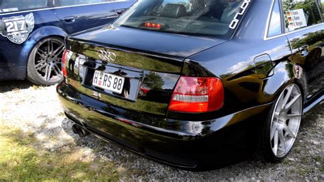Audi Hannover by 1100hp Audi R S4 Limo By Hannover Loud Antilag