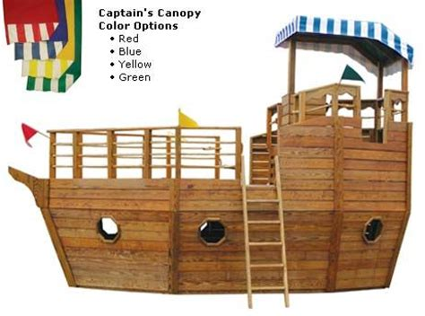 pirate ship swing set plans 1000 ideas about wooden playhouse with slide on pinterest