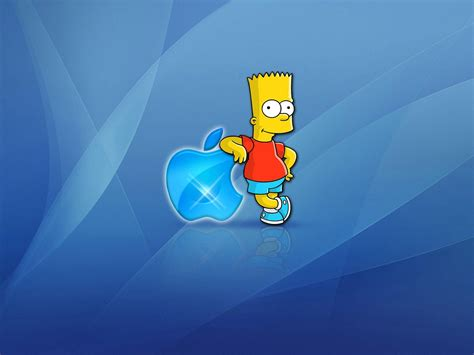 wallpapers apple homer simpson homer apple wallpapers wallpaper cave