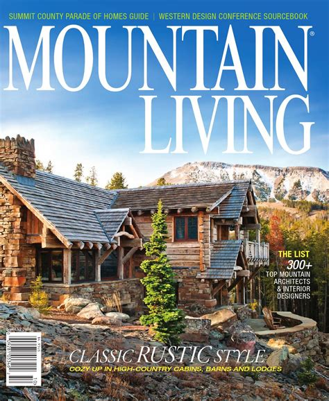 mountain living septemberoctober   network
