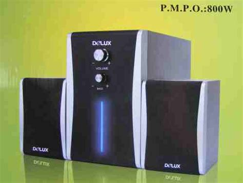 Delux Dls X501 2 1 Ch what speakers do you