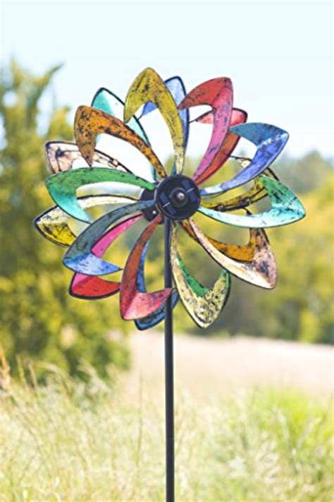 Garden Spinners And Decor Beautiful Kinetic Garden Wind Spinners A Listly List