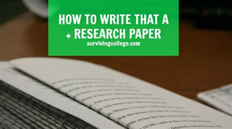 tips on writing a research paper in college so you want to get an a unfortunately procrastinating