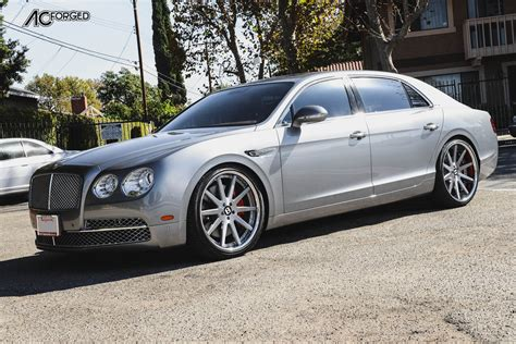 custom bentley flying spur bentley flying spur custom wheels ac acr 413 22x9 0 et