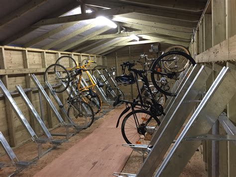 Mountain Bike Shed by Strong Cycle Bike Sheds Custom Built Garden Rooms