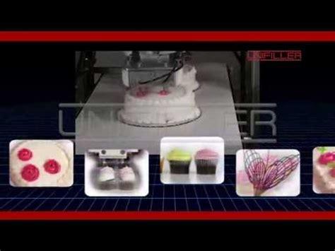 unifiller robotic cake cupcake decorating machine