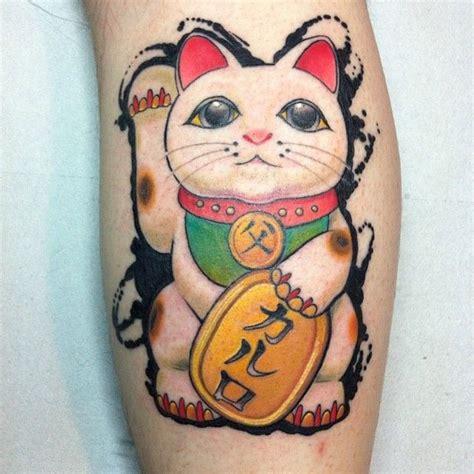 tattoo cat neko maneki neko tattoo eliseofranchini gatti pinterest