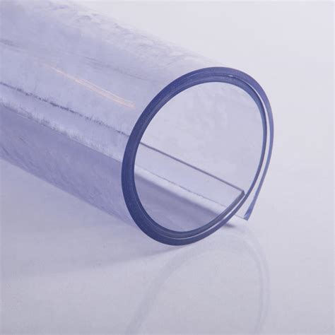 Harga Plastik Anti Uv glatte matte weich pvc transparent bodenschutz pvc