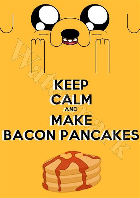Kaos Adventure Time Bacon Pancakes bacon pancakes adventure time