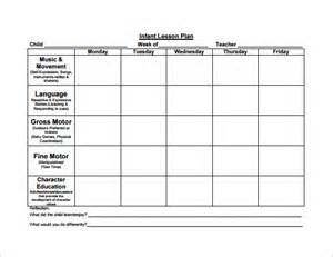 Free Lesson Plans Templates by 8 Lesson Plan Templates Free Sle Exle Format