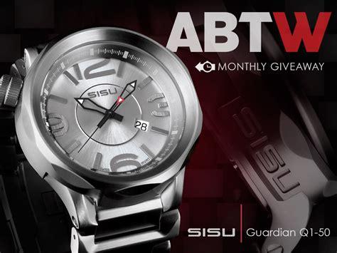 Watch Giveaway - watch giveaway sisu guardian q1 50 haxcom com
