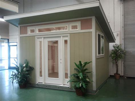 tuff shed pro studio backyard office house in the
