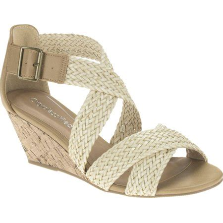 Wedges Evelyne city classified s woven low wedge sandals