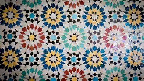 Motif Pola Seni Mosaic Pattern gambar lantai dekorasi garis geometris geometri