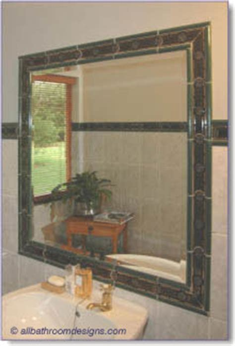 border around bathroom mirror bathroom tile design ideas that grab the attention