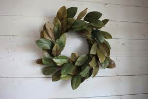Magnolia Wreaths For Front Door Magnolia Leaf Wreath Magnolia Wreath Diy Magnolia Leaf Wreath Home Design By